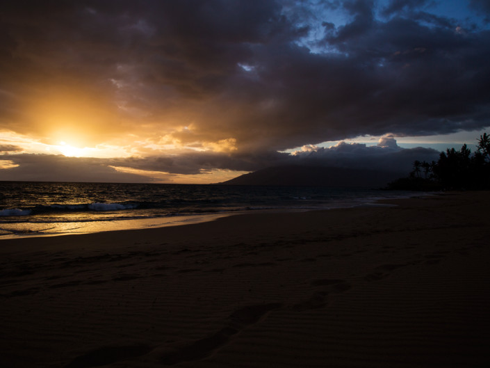 Kalepolepo Beach Sunset Maui Hawaii